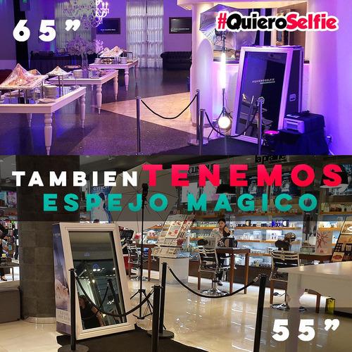 alquiler cabina de fotos inflable premium #quieroselfie