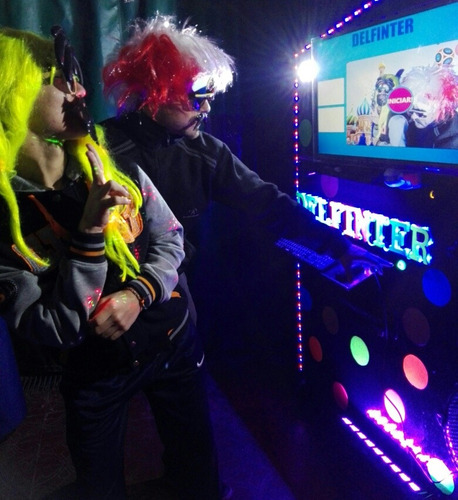 alquiler cabina de fotos, karaoke, inflables, sublimación