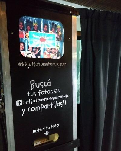 alquiler  cabina de fotos para eventos!!!!