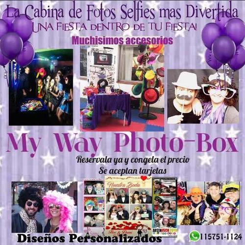 alquiler cabinas fotográficas