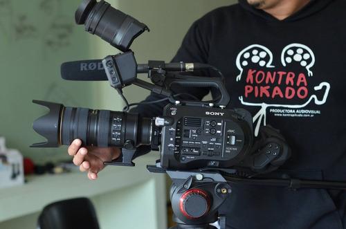alquiler cámara 4k  sony fs7 super 35