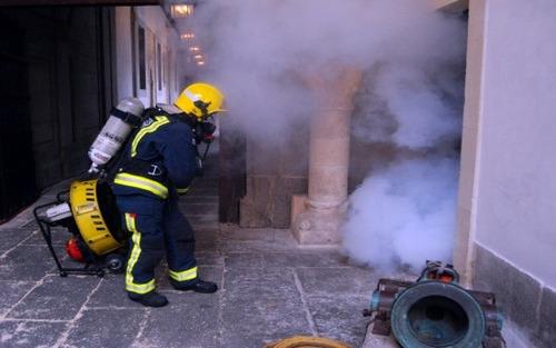 alquiler camara de humo o maquinas de humo eventos bogota