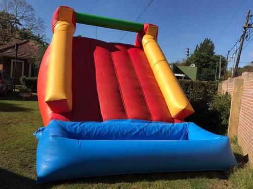 alquiler camas elástica, inflables deportvos y acuático pool