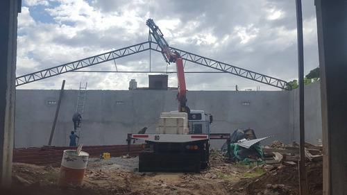 alquiler camion c/hidrogrua fletes,traslado de contenedor