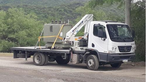 alquiler camion con hidrogrua barquilla