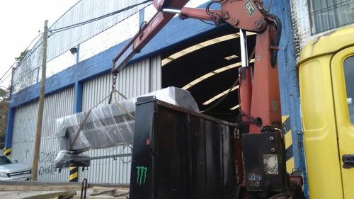 alquiler camion con hidrogrua zona sur