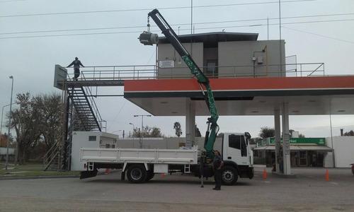 alquiler camion hidrogrua -  fletes