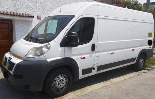 alquiler camión peugeot boxer servicios mudanzas transporte