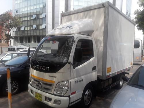 alquiler  camiones carga seca 2 tn,  y camion frigorífico.