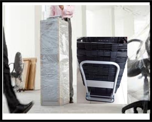 alquiler canastos  mudanzas plasticos  residencias oficinas