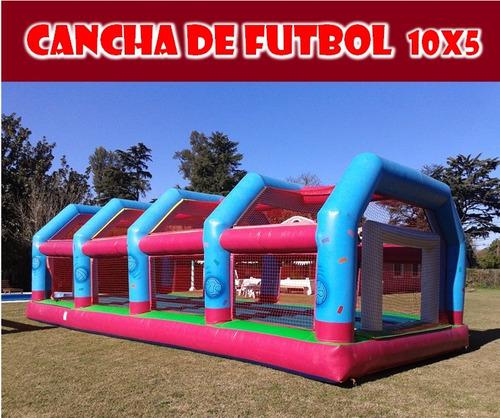 alquiler cancha de futbol c/piso inflable (10x5m) 1530863132