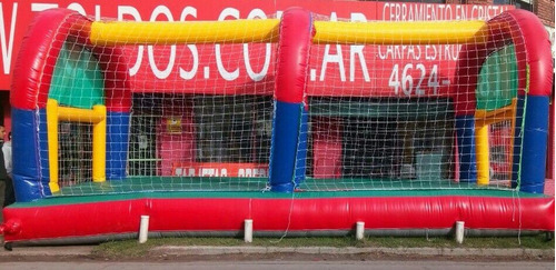 alquiler cancha de futbol inflable