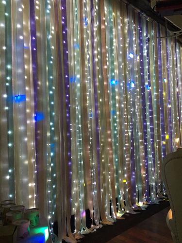 alquiler ,candelabro,centro de mesa ,cortina luces ,etc