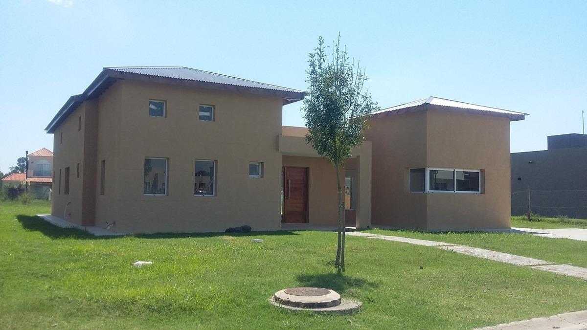 alquiler canning barrio cerrado casa 3 dorm, galería,piscina