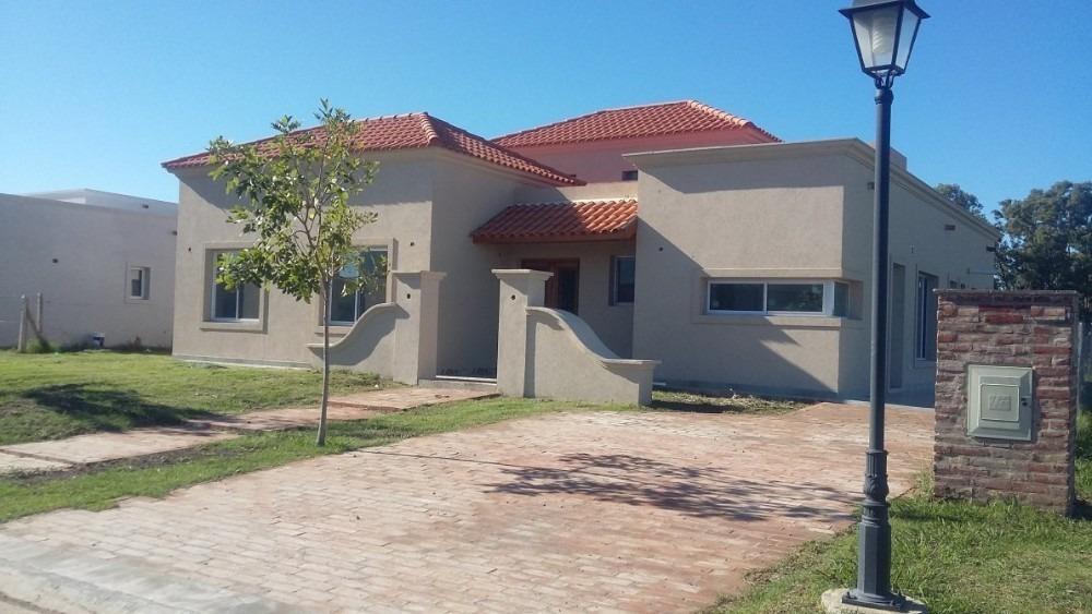 alquiler canning barrio cerrado casa 3dorm, galería, piscina