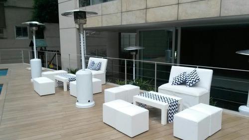 alquiler carpas gazebos living pisos calefacc zona norte