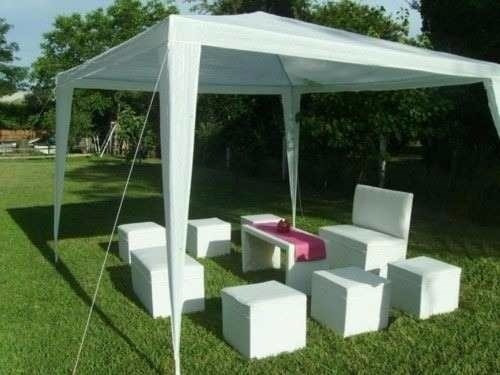 alquiler carpas livings inflable horno zona norte oeste caba