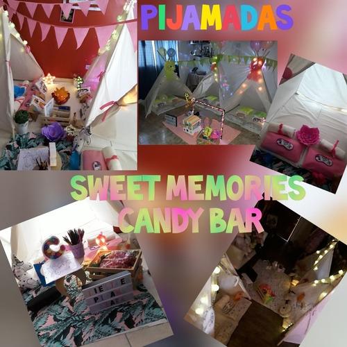 alquiler carpas para pijamadas sweet memories