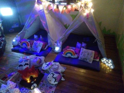alquiler carpas pijama party