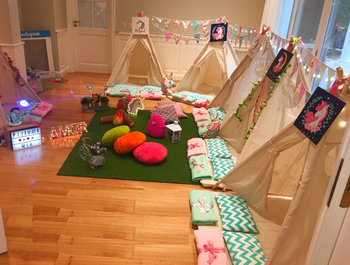 alquiler carpas pijamada pijama party animaciones pijamadas
