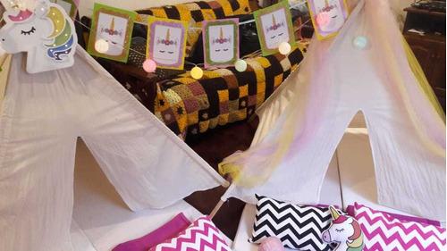 alquiler carpas pijamada pijama party precios accesibles