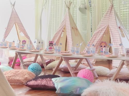 alquiler carpas pijamadas party en casa
