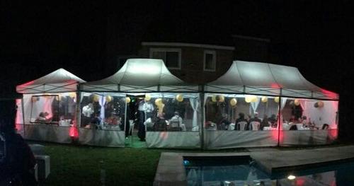 alquiler carpas y gacebos, fiestas de 10 a 150 personas