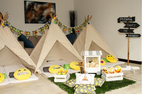 alquiler carpitas tipi - pijamada party
