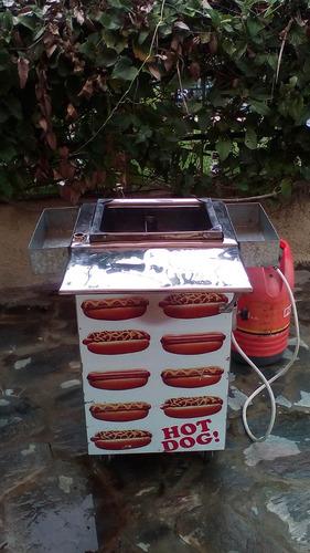 alquiler carrito perro caliente y freidora