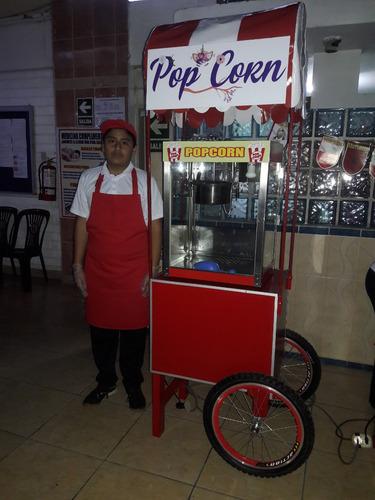 alquiler carritos snacks algodon,pop corn, eventos 997021638
