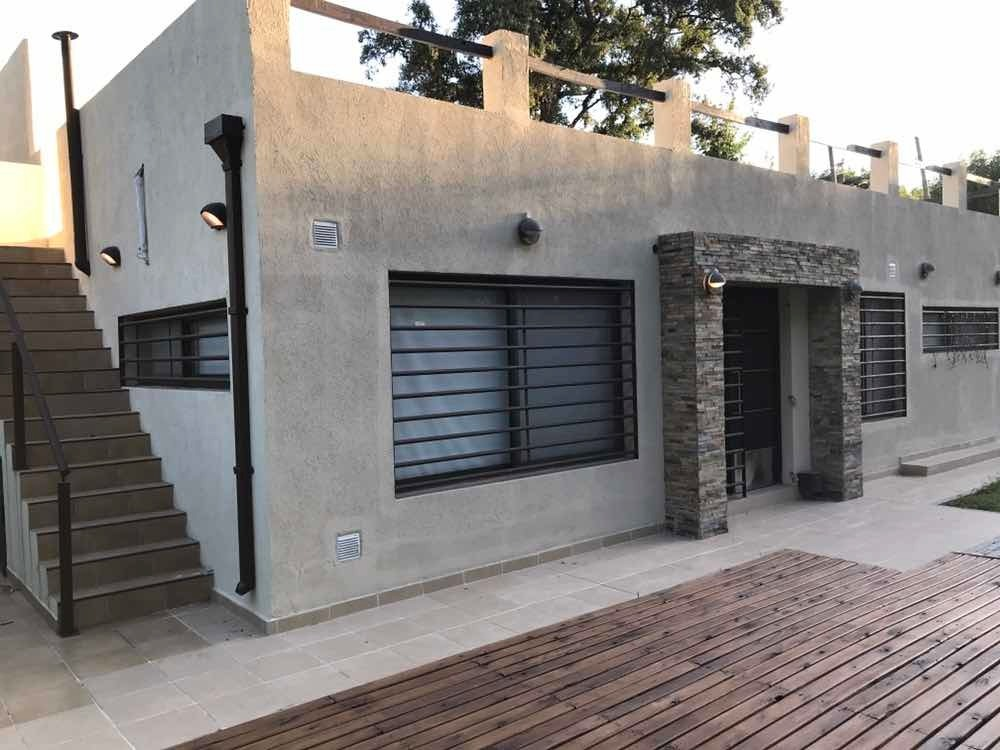 alquiler casa amoblada 4 amb, zona norte, gral. pacheco. k38