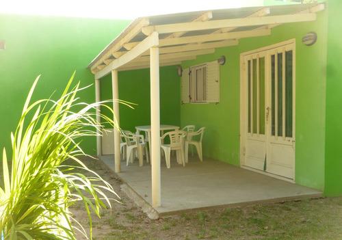 alquiler casa - cabañas en playa de balneario san cayetano