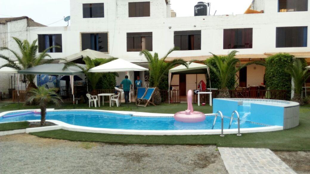 alquiler casa de playa los pulpos en condominio con piscina
