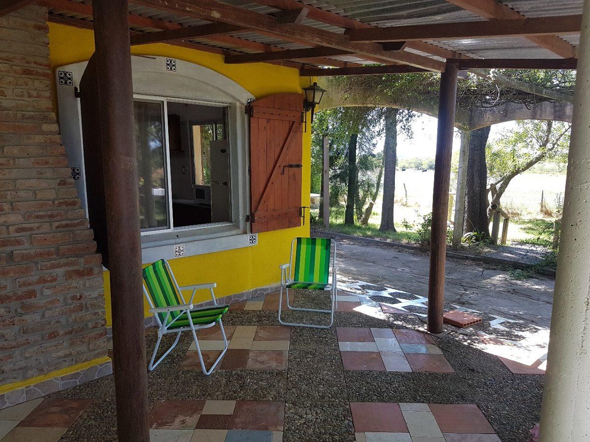 alquiler casa en campo en cerca de rio y de la playa de kiyu