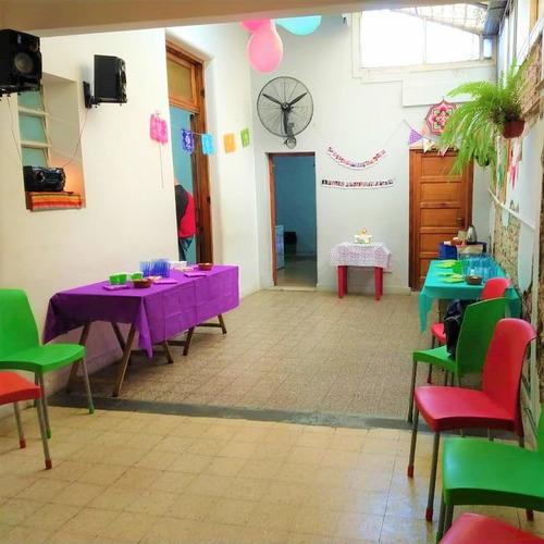 alquiler casa eventos informal y salas aire libre caballito