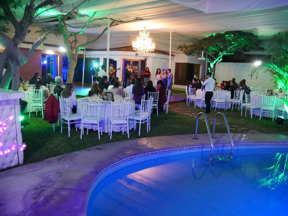 alquiler casa eventos la molina con piscina  bodas  -15 años