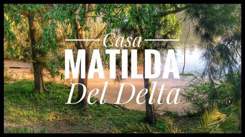 alquiler casa isleña delta tigre,  promo temporada baja