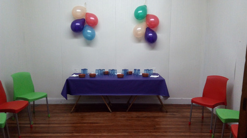 alquiler casa p eventos/festejos y alquiler salas -caballito