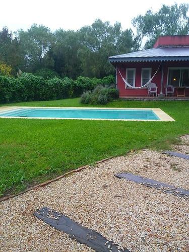 alquiler casa quinta con pileta y parrilla zona sur