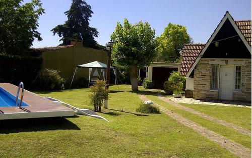 alquiler casa quinta con pileta - zona b° el trebol - ezeiza