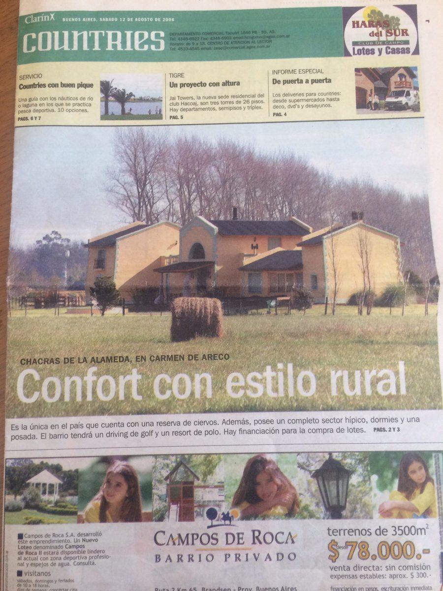 alquiler casa quinta country chacra barrio cerrado