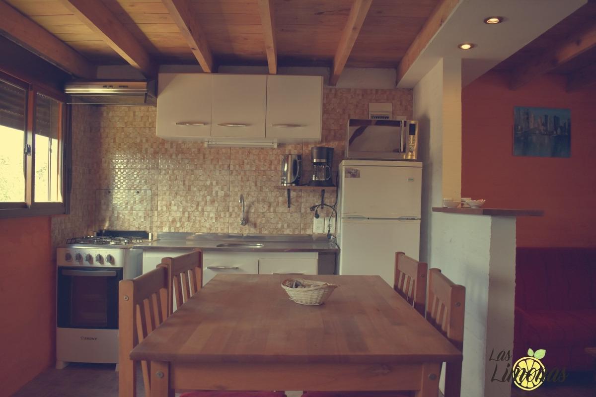 alquiler casas estufa a leña, aire,wifi, directv, parrillero