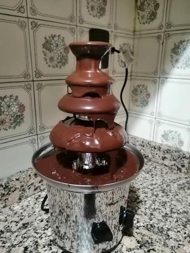 alquiler cascada de chocolate 4 pisos!!