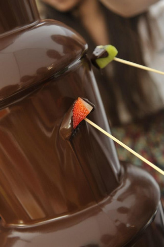 alquiler cascada de chocolate $4200 hasta 40 invitados