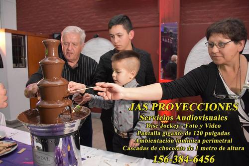 alquiler cascadas de chocolate 4 y 5 niveles + choc. premium