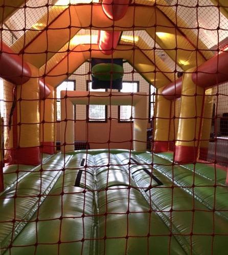 alquiler castillo inflable cancha tejo plaza blanda metegol