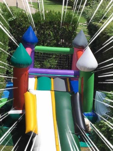 alquiler castillo inflable con tobogán