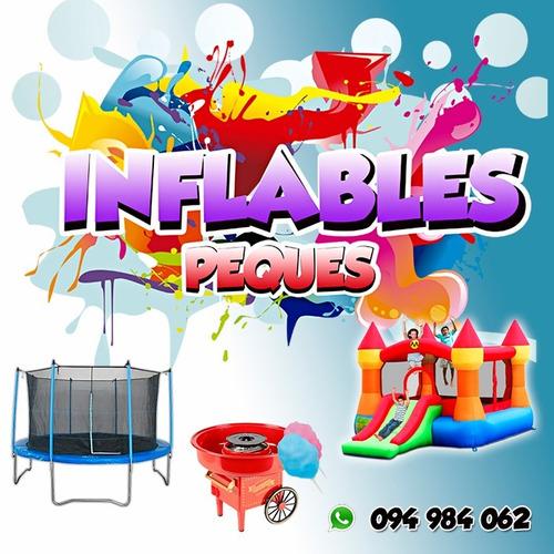 alquiler castillos, camas algodón azucar  094984062 whatsapp