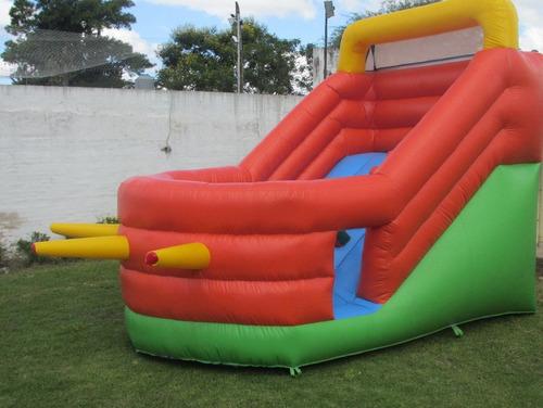 alquiler castillos inflables cancha jabonosa tobogan pileta