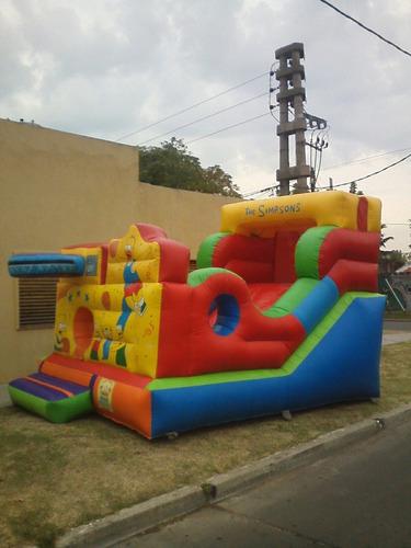 alquiler castillos inflables -metegol-plaza blanda-zona sur